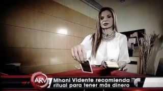 Mhonividente en Al Rojo Vivo Ritual para recibir el Año Nuevo 11/27/2015