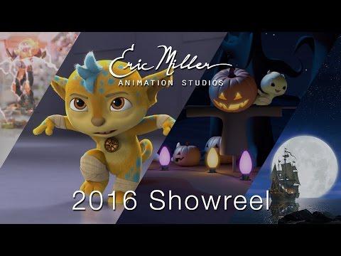 Eric Miller Animation 2016 Showreel