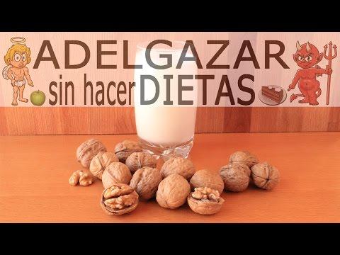 LECHE DE NUECES CASERA # ADELGAZAR SIN HACER DIETAS