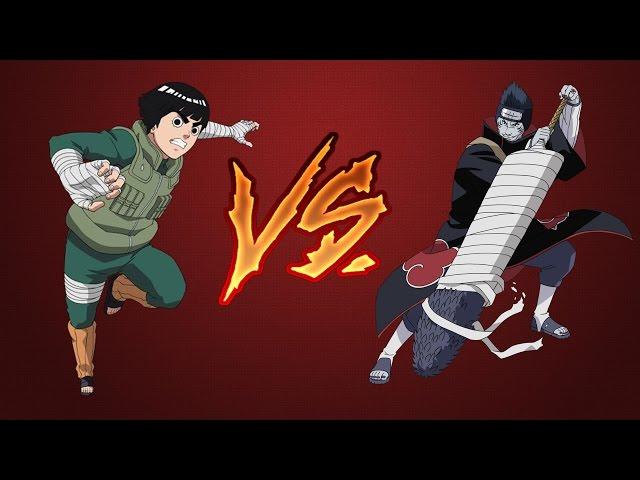 Rock Lee VS Kisame - Naruto Shippuden - Ultimate Ninja Heroes 3