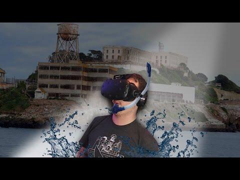 ESCAPING FROM ALCATRAZ! | Alcatraz: VR Escape Room (HTC Vive Virtual Reality)