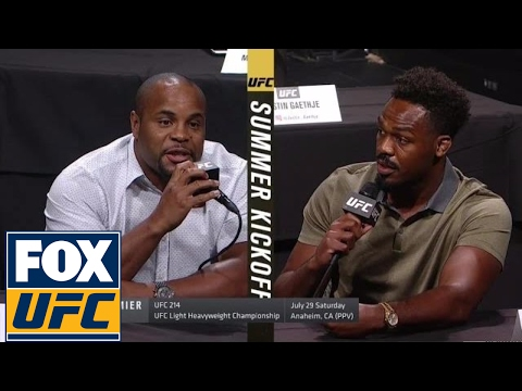 UFC Summer Kickoff: Jones vs Cormier 2 announcement for UFC 214 | Uncensored | UFC ON FOX
