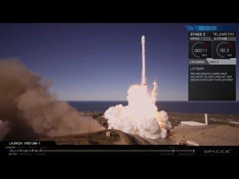 SpaceX vuelve a lanzar con éxito su cohete Falcon 9