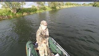 рыбалка сплавом по малым рекам видео