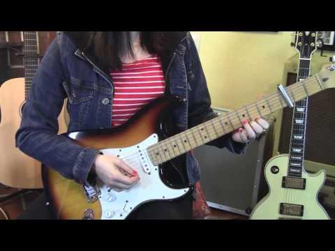 The Smiths-Hand in Glove-Guitar Lesson-Allison Bennett