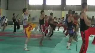 entrainement kickboxing Club Ajyal oued rhiou part1