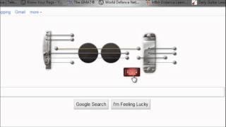 Indian National Anthem Played on Google Les Paul doodle