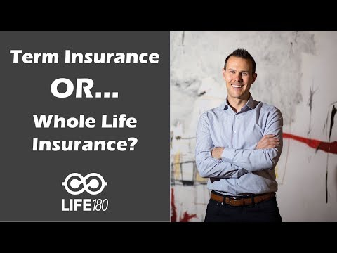 Term Insurance vs Whole Life Insurance?  Which is best for you?