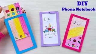 핸드폰수첩만들기★DIY phone notebooks!★…