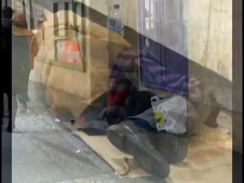 Homeless in Budapest