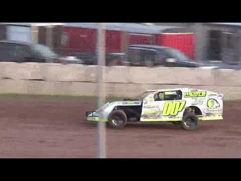 6 9 17 modified heat win at Luxemburg Speedway