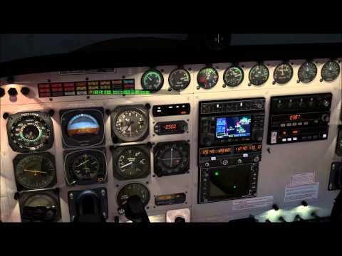 X-Plane 10 llegada y aproximación Asturis (LEAS) IVAO, Carenado Cessna Grand Caravan DHL
