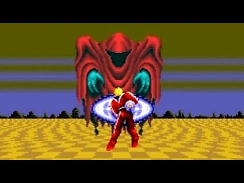 Space Harrier II (Genesis) Playthrough - NintendoComplete