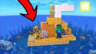 Minecraft SECRET UNDERGROUND BUNKER WITH DANGEROUS MONSTERS !! HOUSE SURVIVAL !! Minecraft Mods