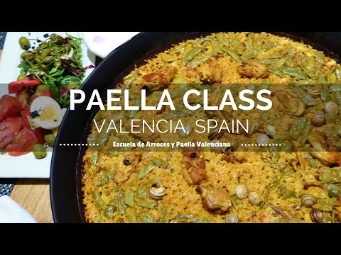 Paella Cooking Class in Valencia Spain