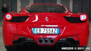 Ferrari 458 Italia SOUND - Start Up, Revs and Accelerations!