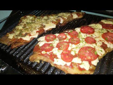 Matambre a la pizza a la parrilla Parte 1