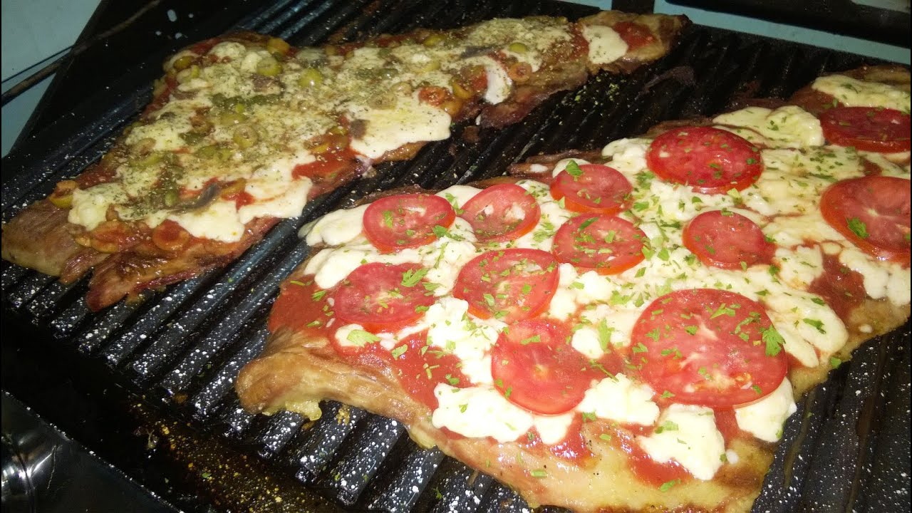 Matambre a la pizza a la parrilla Parte 1 - YouTube