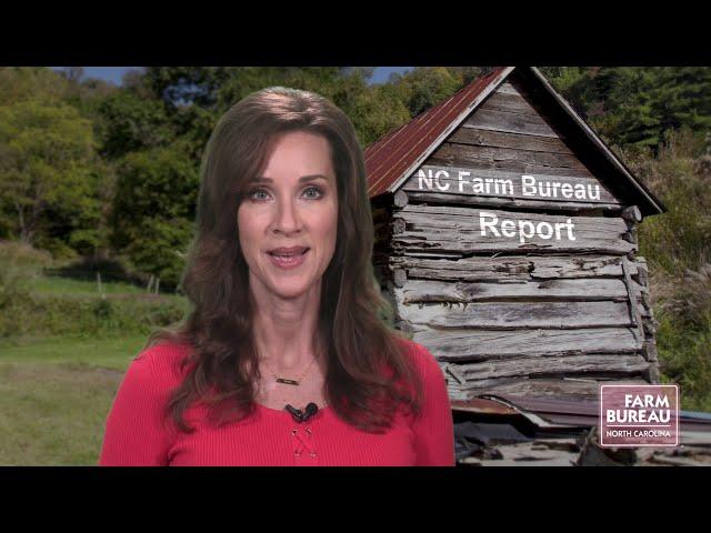 NC Farm Bureau Report for Oct. 23, 2020