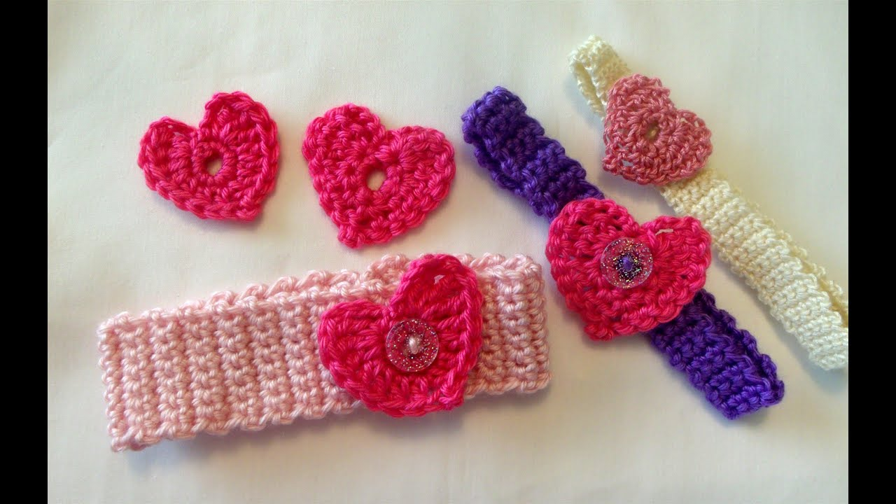 Crochet A Heart : How to crochet a heart, easy, Valentines day - YouTube