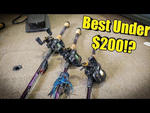 3 BEST Baitcaster Combos UNDER $200 (2019)