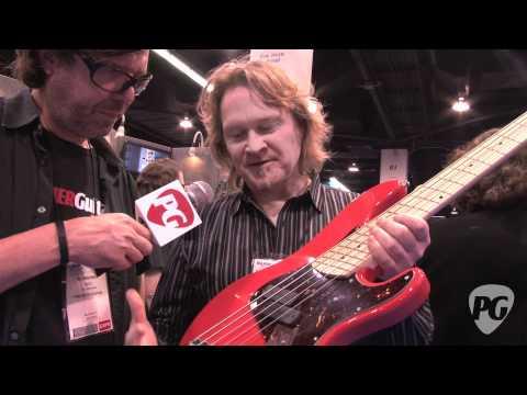 NAMM '12   Dingwall Guitars Super P