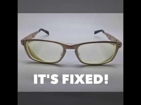 8a4fb61b790e Aluminium spectacles repaired   Visio Optical - Singapore - YouTube