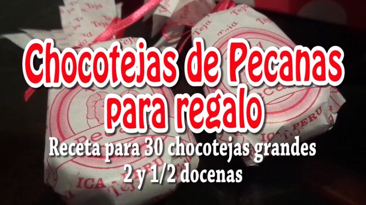 46339 >> COMO HACER CHOCOTEJAS PERUANAS PARA REGALO How to make Peruvian chocotejas for gift - YouTube