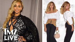Beyonce gave birth to twins Rumi and Sir only four months ago but y...