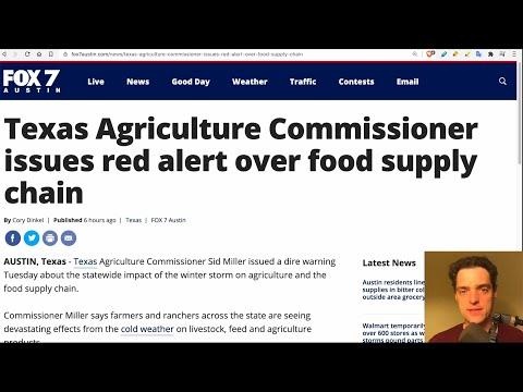 RED ALERT: Food Supply Chain Shutting Down as Blackouts Spread - Grand Solar Minimum