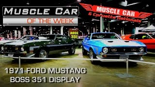 1971 BOSS 351 at Muscle Car and Corvette Nationals - Muscle Car Of The Week Video Episode #195