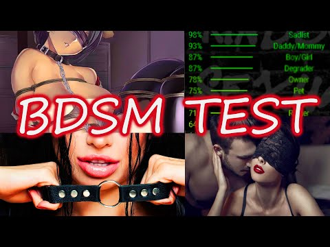 Let's Take A BDSM Test~ [ASMR]
