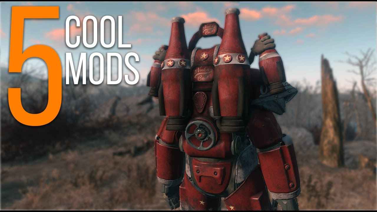 5 Cool Mods - Episode 28 - Fallout 4 Mods (PC/Xbox One)