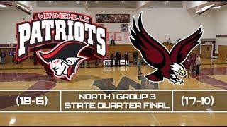 Wayne Hills vs Dwight Morrow North 1 Group 3 St Quarter-Final 2/28/19