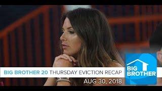 BB20 | Thursday Eviction & Buyback Episode Recap Aug 30 LIVE 10:15e/7:15p