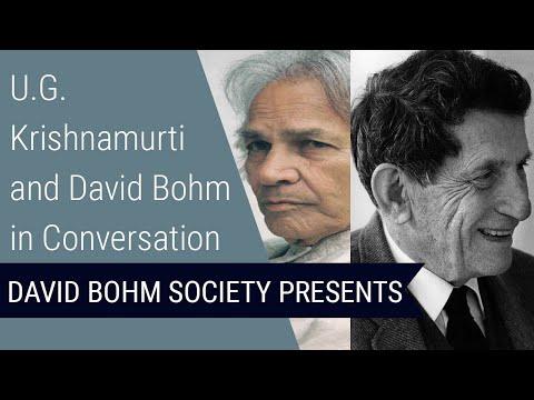 David Bohm in conversation with U. G. Krishnamurti