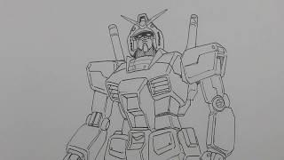 How to draw a Gundam 101: RX-78-2 Gundam