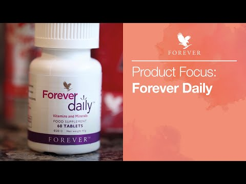 The benefits of Forever Daily | Forever Living UK & Ireland