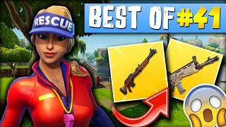 FATEU CARNAGE A LA SCAR 😱, ADZ UN DIEU À LA CARABINE 🎯► BEST OF FORTNITE FRANCE #41