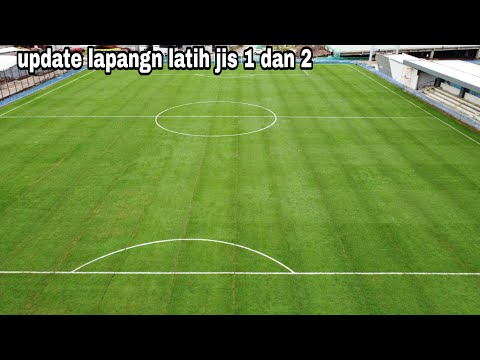 Update Progres Rumput Hybrid Lapangan Latihan Jakarta Internasional Stadium