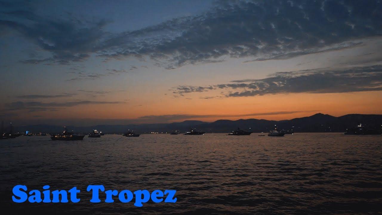 Saint Tropez Am Strand Coted Azur Youtube