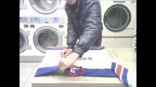 Real Japanese LONG-SLEEVE Folding in 5 Seconds! (ENG Instructional)