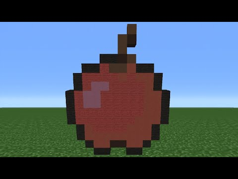 Minecraft Tutorial: How To Make An Apple