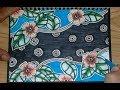 Batik Flora Motif Bunga Mudah dan menarik