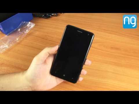 แกะกล่อง Nokia Lumia 625 หน้าจอ 4.7 นิ้ว Windows Phone 8 ราคา 8,990 บาท