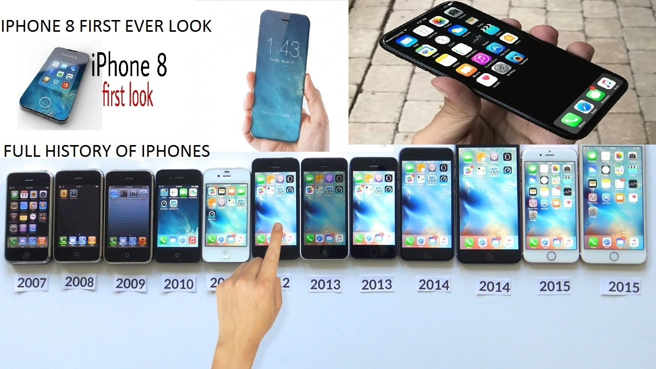 first iphone ever iphone8 look and iphone s history 1 to 7 2651