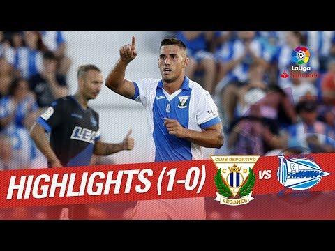 Resumen CD Leganés vs Deportivo Alavés (1-0)