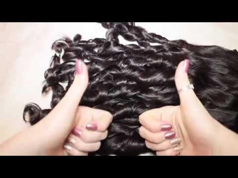 Крутим волосы за ночь ★ Как завить волосы без плойки/утюжка
