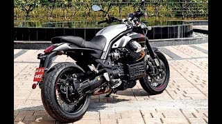 Moto Guzzi Griso exhaust sound and fly by compilation