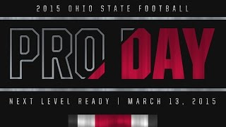 Ohio State Football: Pro Day 2015